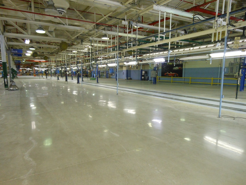 Polishing, Line Striping, & Epoxy Flooring - Commercial & Industrial