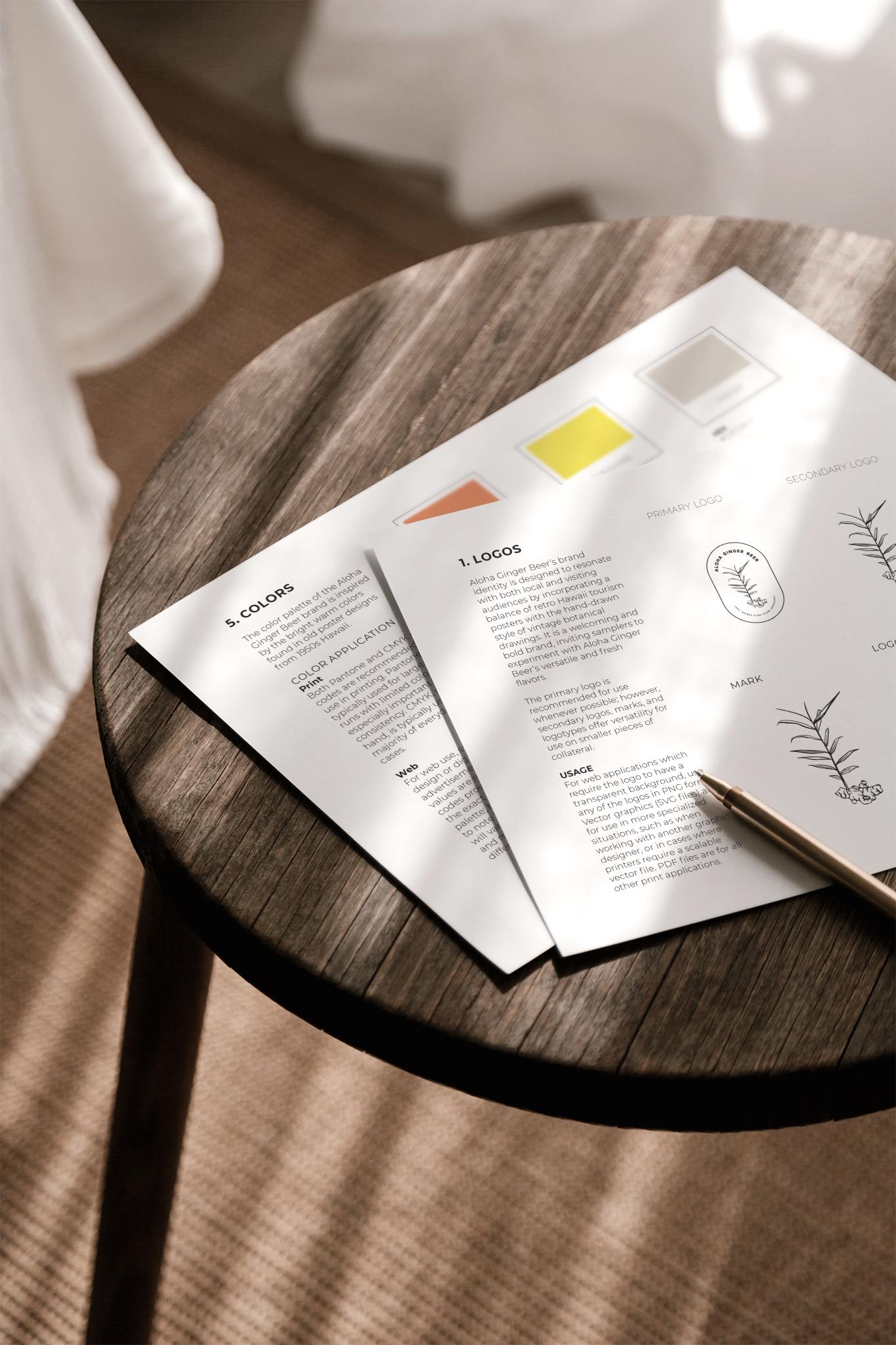 Brand Design Mockup