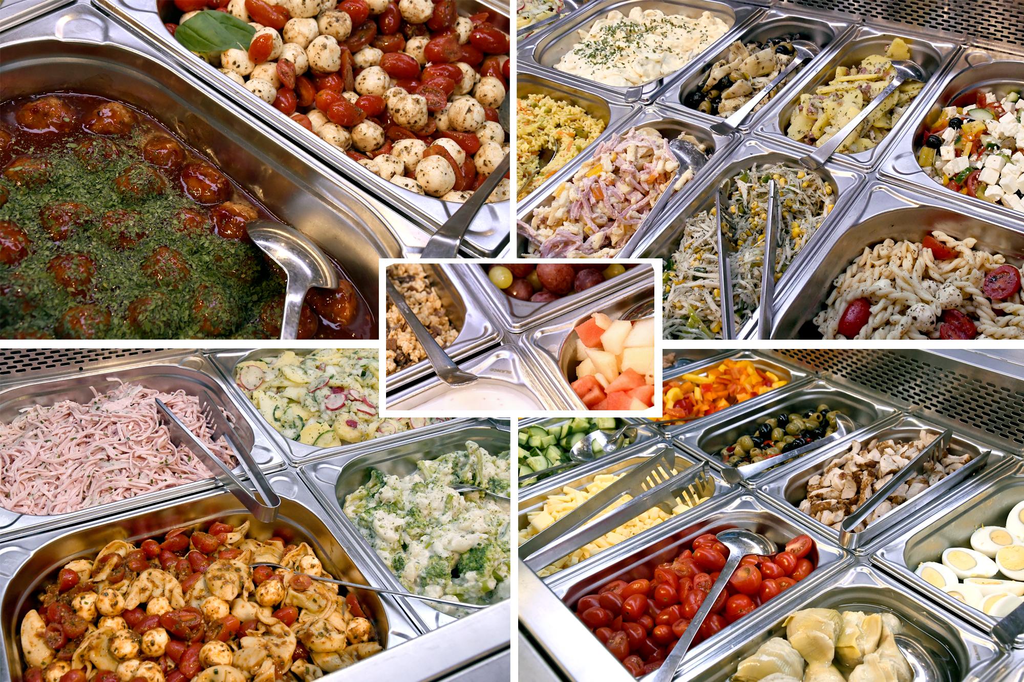 Rewe Stolpowski Salatbar