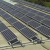 Solar-Dachaufbau