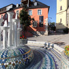 Porcelain Fountain in Selb