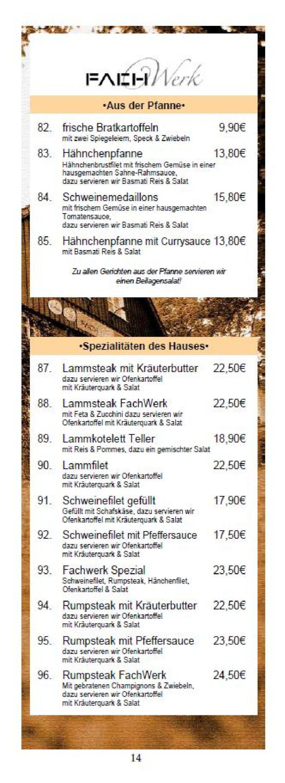 Neue Liebe Hardegsen Speisekarte