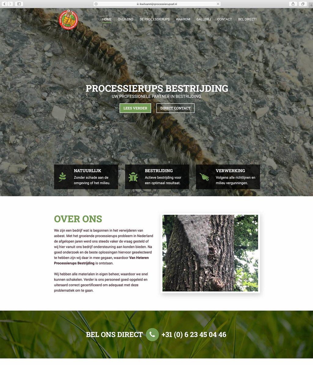 Website voorbeeld beauty