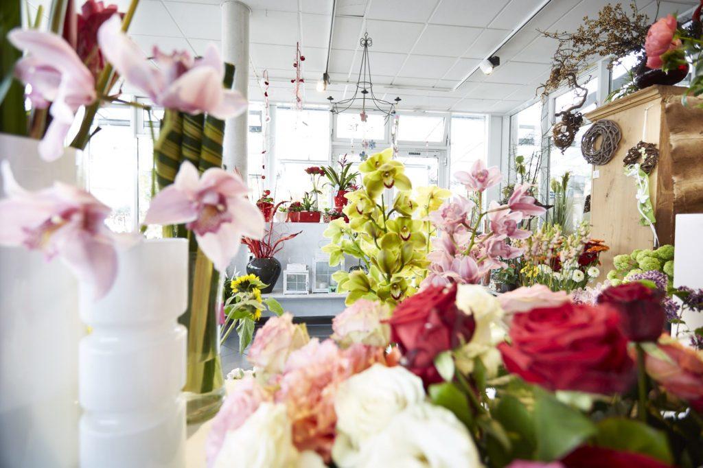 Blick in den Blumenladen