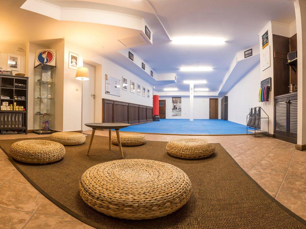 Trainingsfläche der Kampfkunstschule Weimar