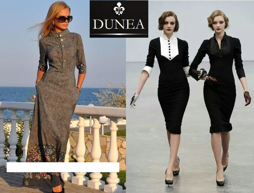 Duge Haljine Za Punije Zene Business Lady Fashion