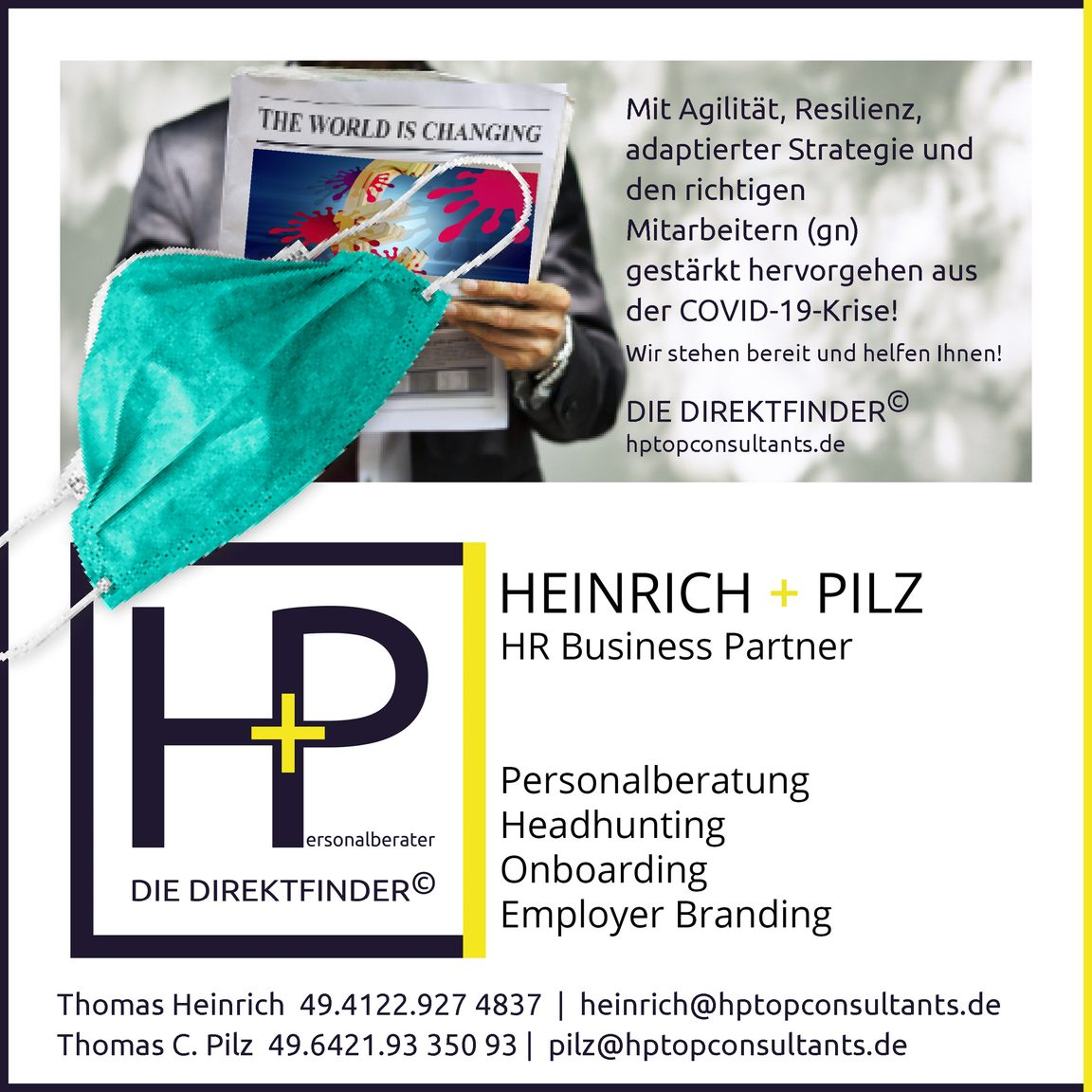 Recruiting reloaded durch HEINRICH + PILZ