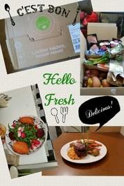 HelloFresh ist ein Lieferdienst für komplette Menüs. Egal ob mit Fleisch (& Fisch) oder Vegetarisch - es sind abwechslungsreiche Rezepte und man bekommt alle nötigen Zutaten frisch nach Hause geliefert.