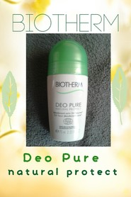 BIOTHERM Deo Pure, Natural Protect, alminiumfreies Deodorant.