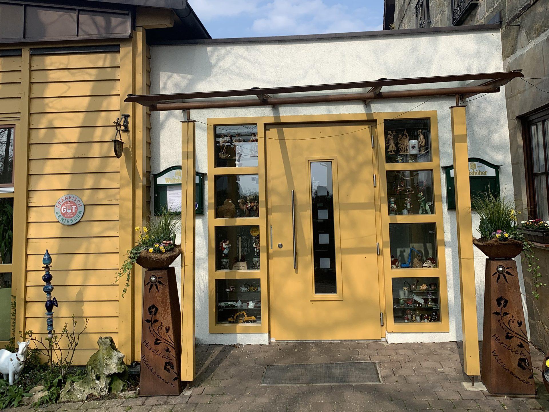 Gasthaus Reif In Kalchreuth Kaswasser Frankische Kuche In Kalchreuth Kaswasser