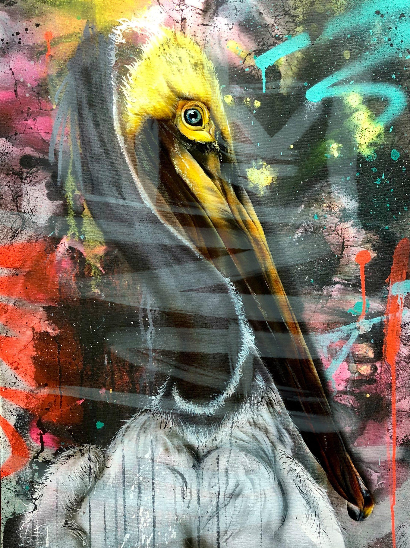 Pelikan - 60 x 80 cm