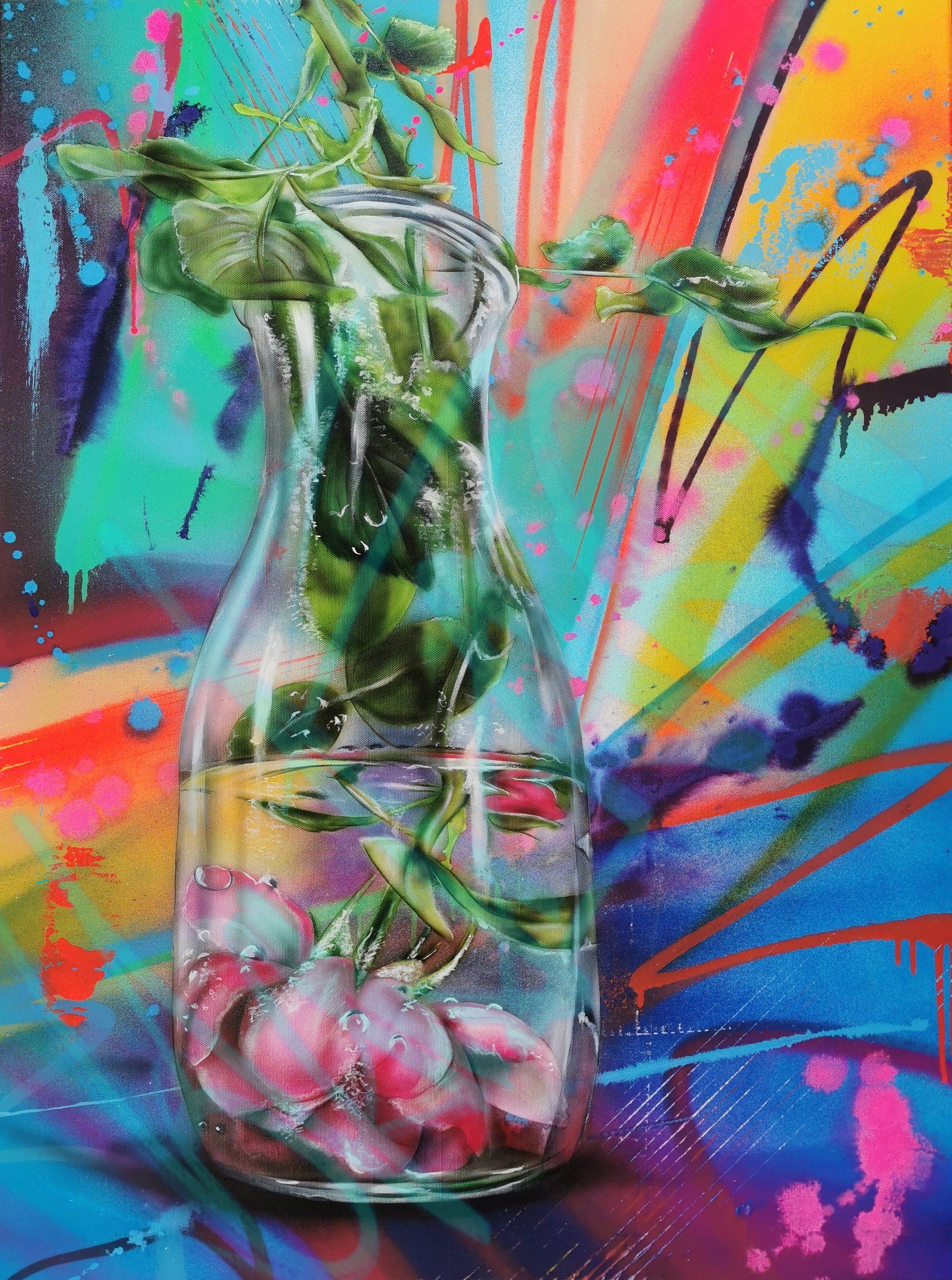 BlumenWasser - 75 x 100 cm