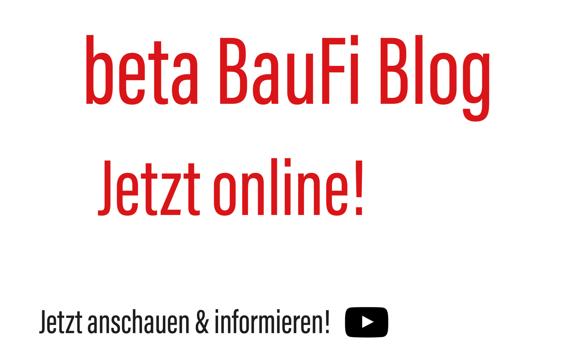 beta BauFi Blog