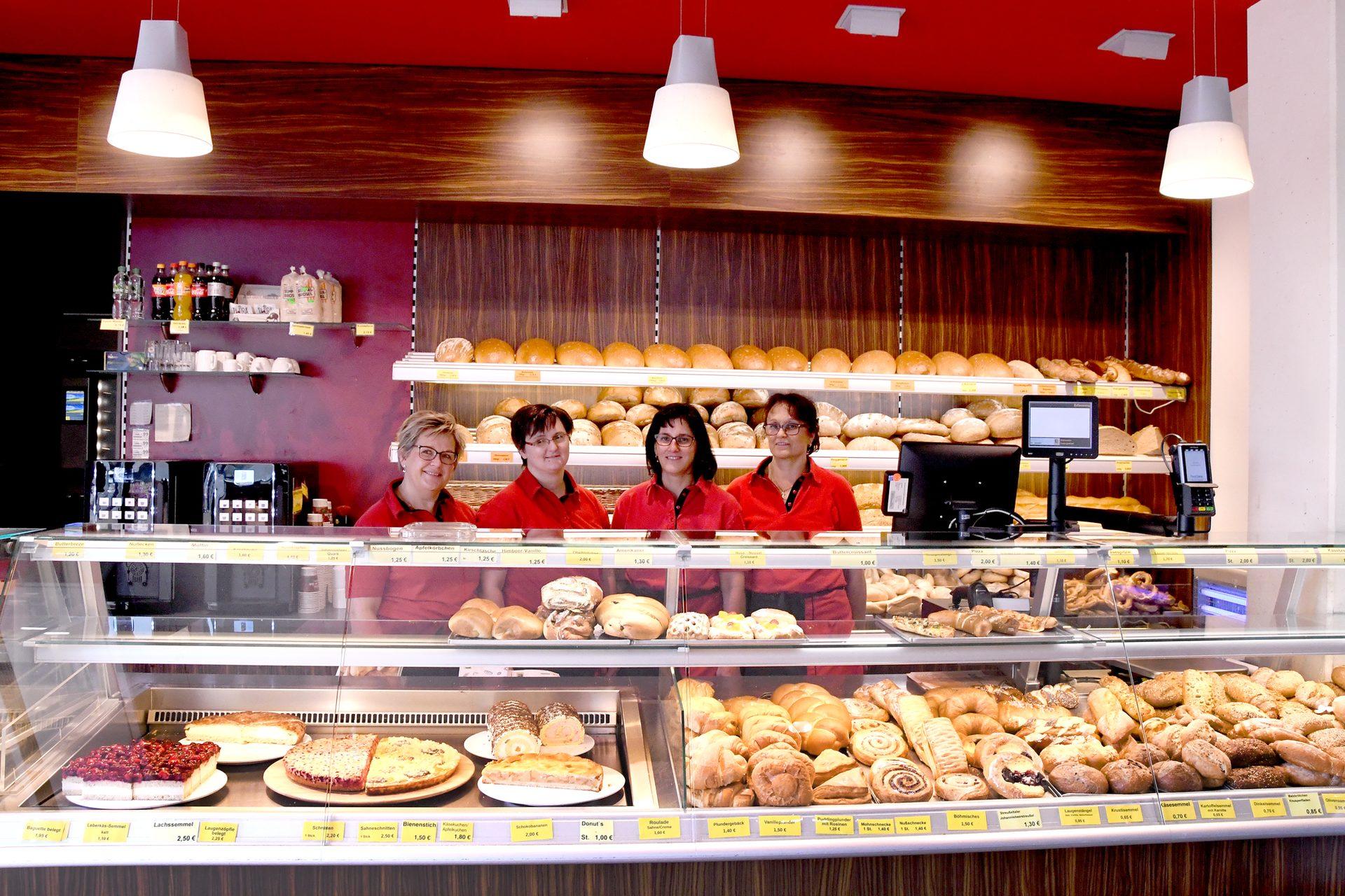 Edeka Helmschrott Bäckerei-Team