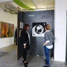 Helma Thule-Marquardt im Gespräch mit dem Vereinsmitglied Sabine Pfoch