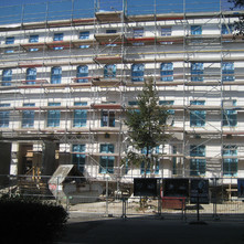 Denkmalgeschütze Gebäude- sanierung und Umbau