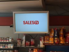 Werbedisplay Tankstelle (klein)