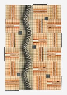 Tools (90x70 cm) - Baryt / Tee- und Goldtonung auf Karton