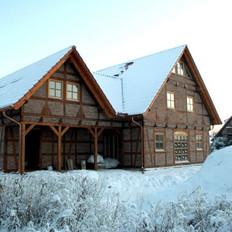 Wärmepumpe in Kombination mit Fußbodenheizung. Beheizte Wohnfläche ca. 160 m².