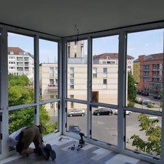 BV Kirchsteigfeld / Erneuerung Erkerfenster