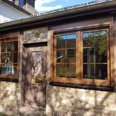 Fenster mit Aufsatzrolladen