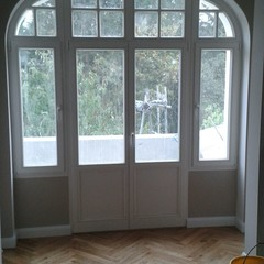 Neues Holzfensterelement im Altbau