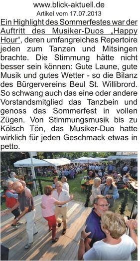 Bürgerfest BV Beul e.V.
