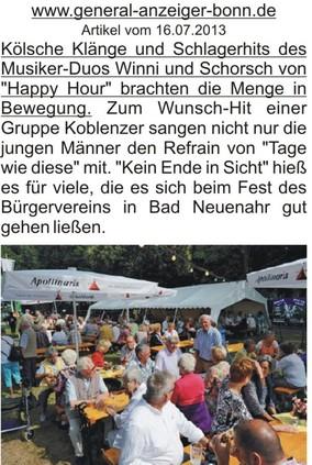 Sommerfest Bad Neuenahr