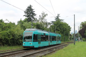 Frankfurtm Straßenbahn