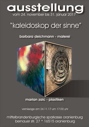 Ausstellung Kaleidoskop der Sinne von Barbara Deichmann und Marain Zaic
