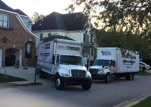 Miracle Moving trucks in Greensboro North Carolina