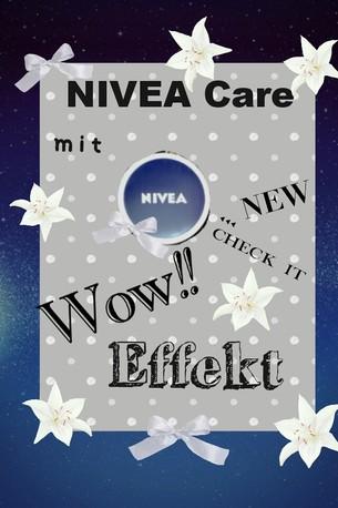 NIVEA Care - Creme mit WoW-Effekt!