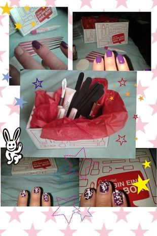 Nagel Box von Catherine mit verschiedenen Produkten