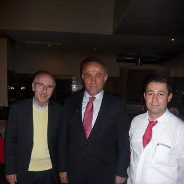 Sayın Seyfullah Hacımüftüoğlu Tuğra Restautant ta