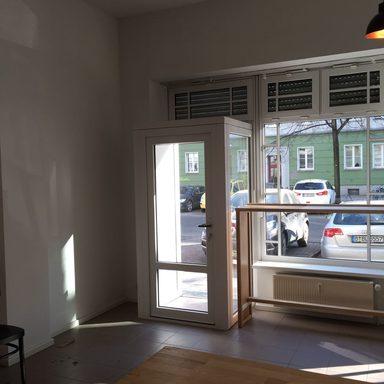 Umbau Schaufensteranlage