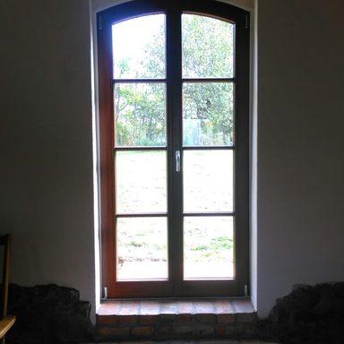 Holzfensterelemente mit Stichbogen