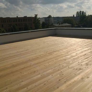 Terrassenbau Schmerzklinik und Wustermark