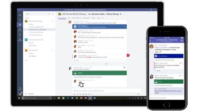 Microsoft Teams Kommunikatio