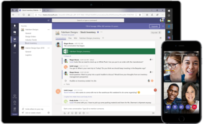 Microsoft Teams Kollaboration