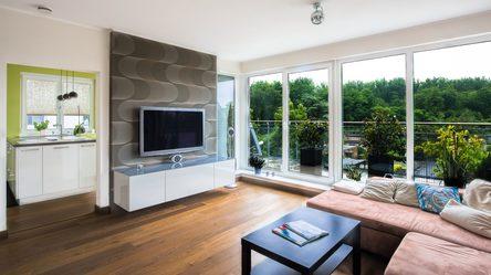 Wohnzimmer honig&blau Raummanufaktur Maler Hamm Gestaltung Betonoptik Fugenlose Böden
