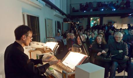 Auftritt im Würzburger Spitäle als Umrahmung einer Filmvorführung 2013