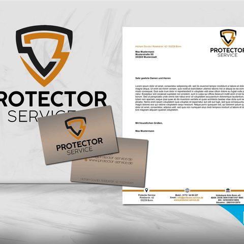 Protector Service Corporate Design
