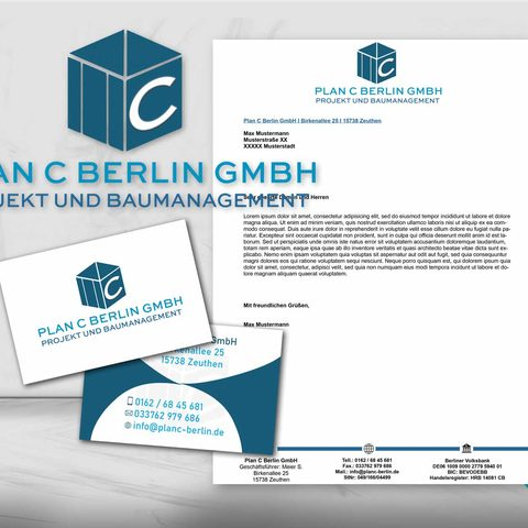 Plan C Berlin Corporate Design