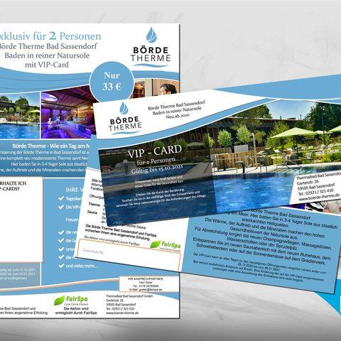 Plakat und VIP-Card Design
