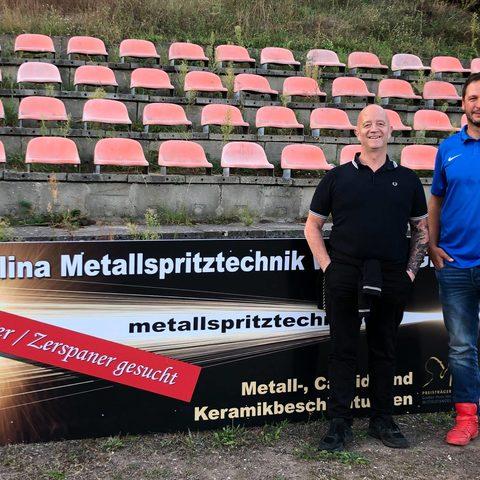 Werbebanner beim MSV Rüdersdorf