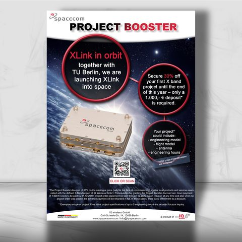 Spacecom Plakat