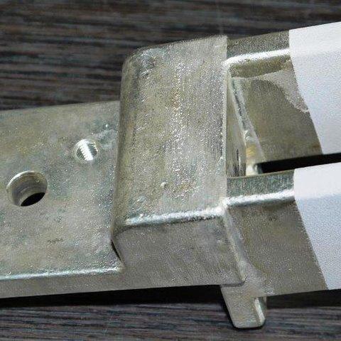 Kaltgasspritzen - Schaltkontakt mit Silberbeschichtet. Auch für einen besseren elektrischen Übergangswiederstand an den Kontakten