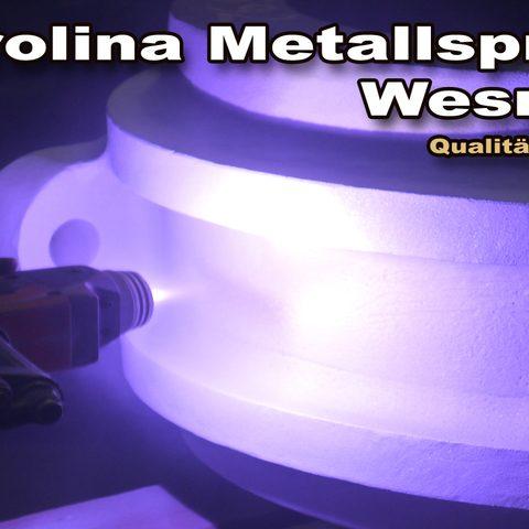 Berolina Metallspritztechnik - Lichtbogenspritzen - Verzinken eines Gehäuses