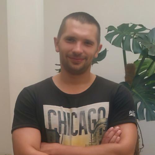 Anton Honchar Web developer profile image