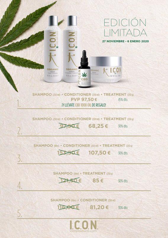 Icon Cure Champú Spray Healing Regimedy